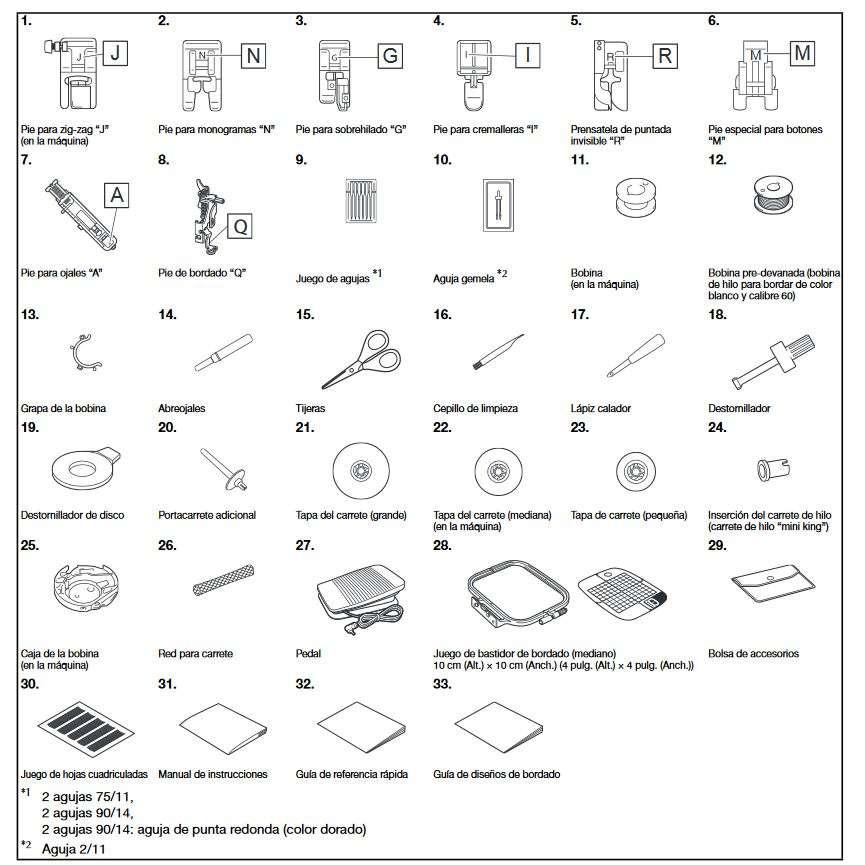 Máquina de coser y bordar BROTHER M280D Disney | Grupo FB
