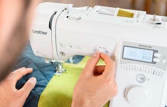 , Nuevas Innov-is serie A. Máquinas de coser electrónicas BROTHER, Grupo FB