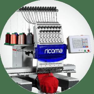 , Ricoma, bordadoras profesionales, Grupo FB