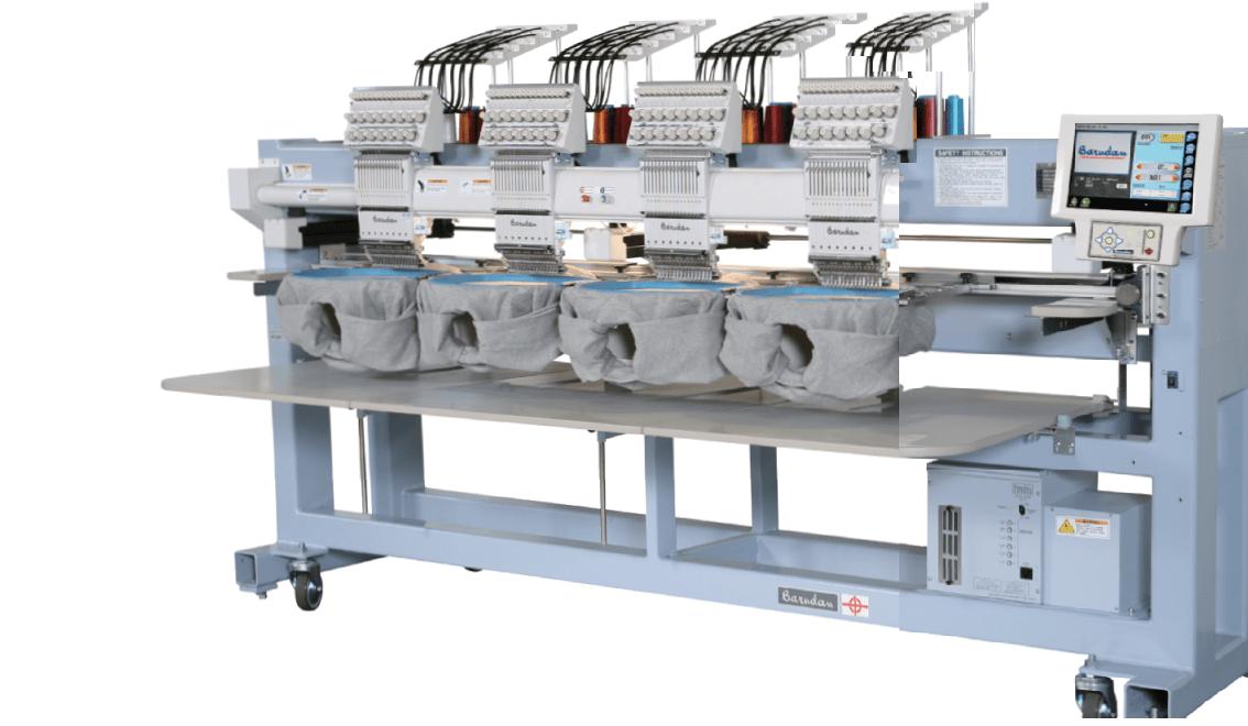 Máquinas de bordar Barudan