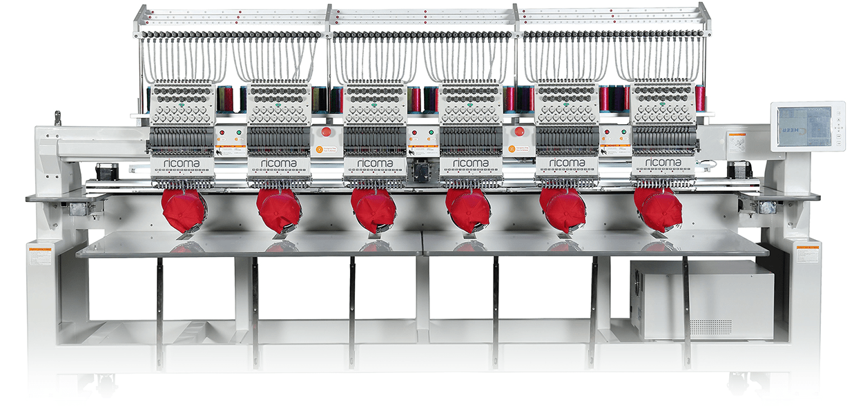 Máquinas de bordar Ricoma