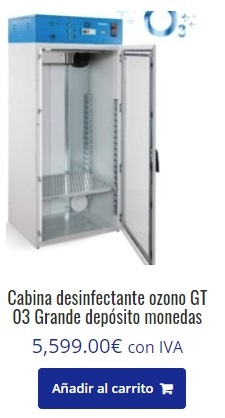 cabina de ozono, Cabina de ozono para desinfectar, Grupo FB